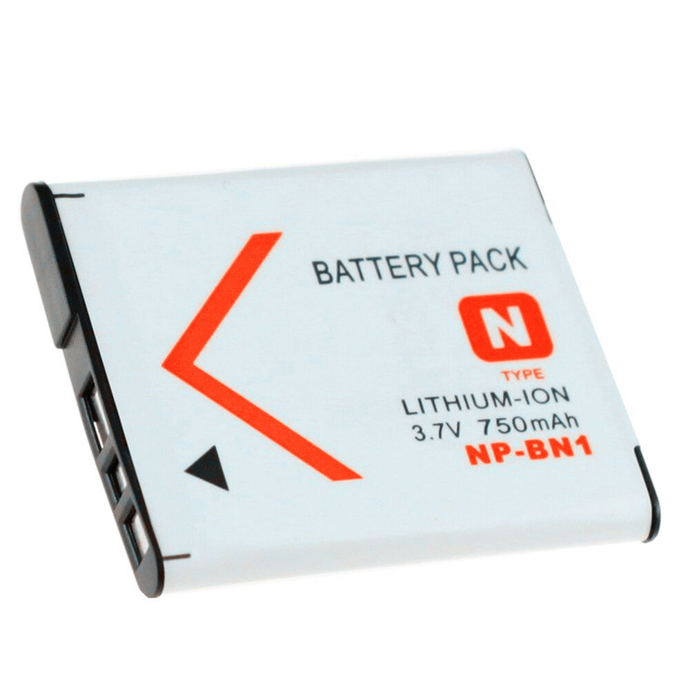 For Sony Np Bn1 Lithium Ion N Type Rechargeable Battery