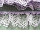 Gathered Lace Lilac 10 metres (251/1)