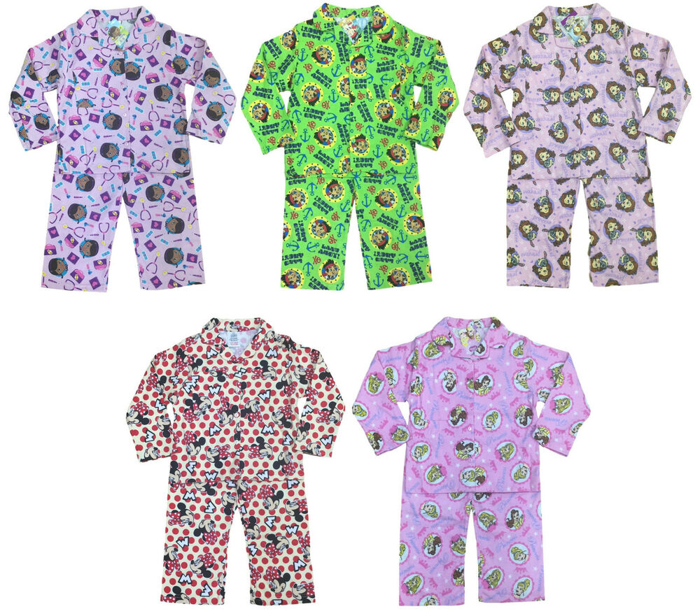 a81681792 CHARACTER PYJAMA SETS DISNEY WINCY FLANNEL BUTTON UP LONG PJ BOYS ...