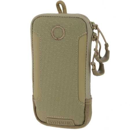 img-Maxpedition PHP iPhone 6/6S/7 Pouch MOLLE Padded Holder Smartphone Carrier Tan