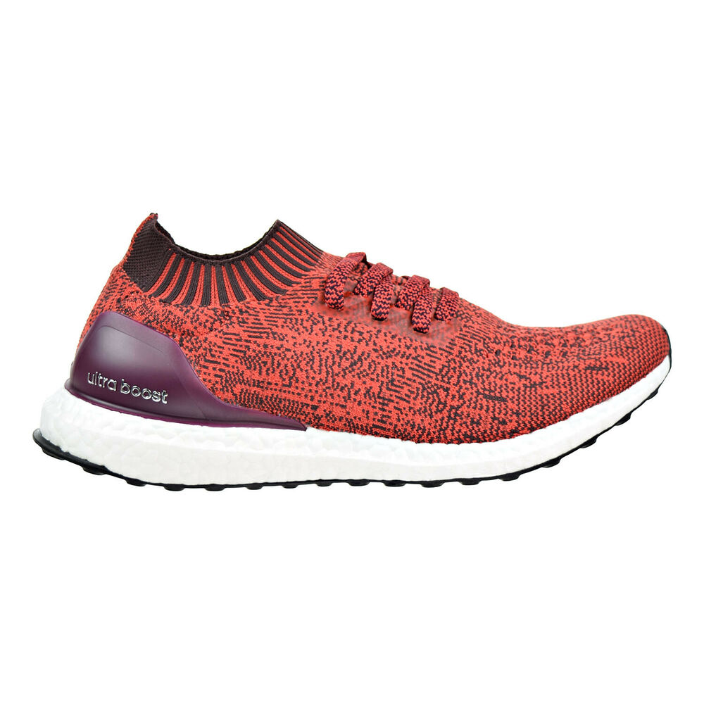 ccc8c6f3dc1 Details about Adidas UltraBoost Uncaged Men s Running Shoes Dark  Burgundy Tactile Red by2554
