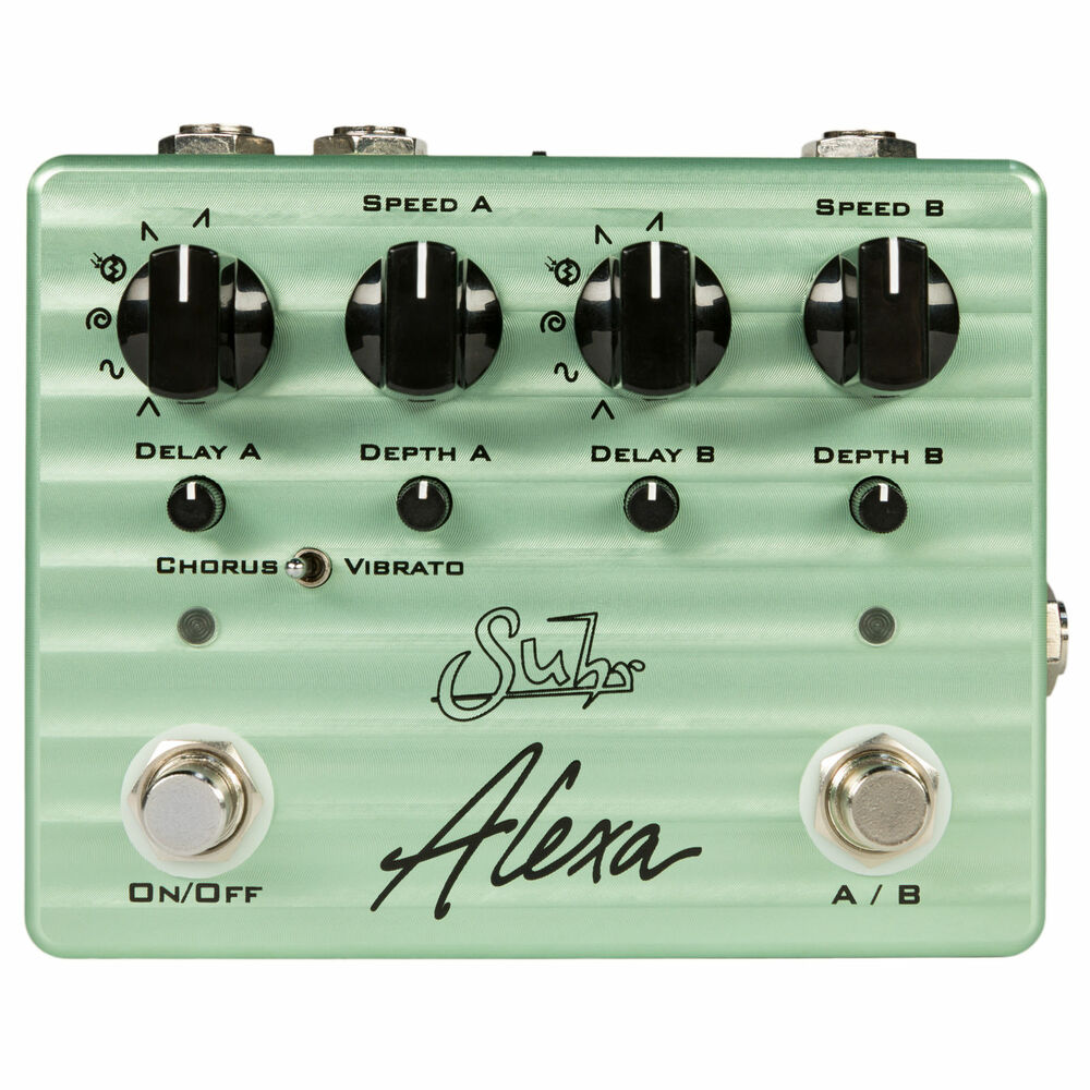 suhr alexa multi wave dual channel analog chorus guitar effects pedal stompbox 819438029411 ebay. Black Bedroom Furniture Sets. Home Design Ideas