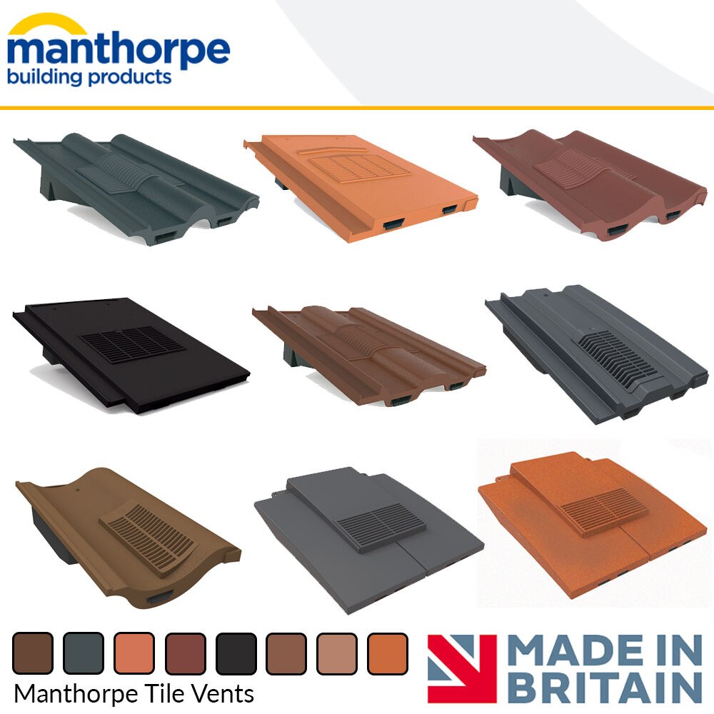 Awesome Roof Tile Vents | Roof Ventilation | Manthorpe Tile Vents | Accessories  Options
