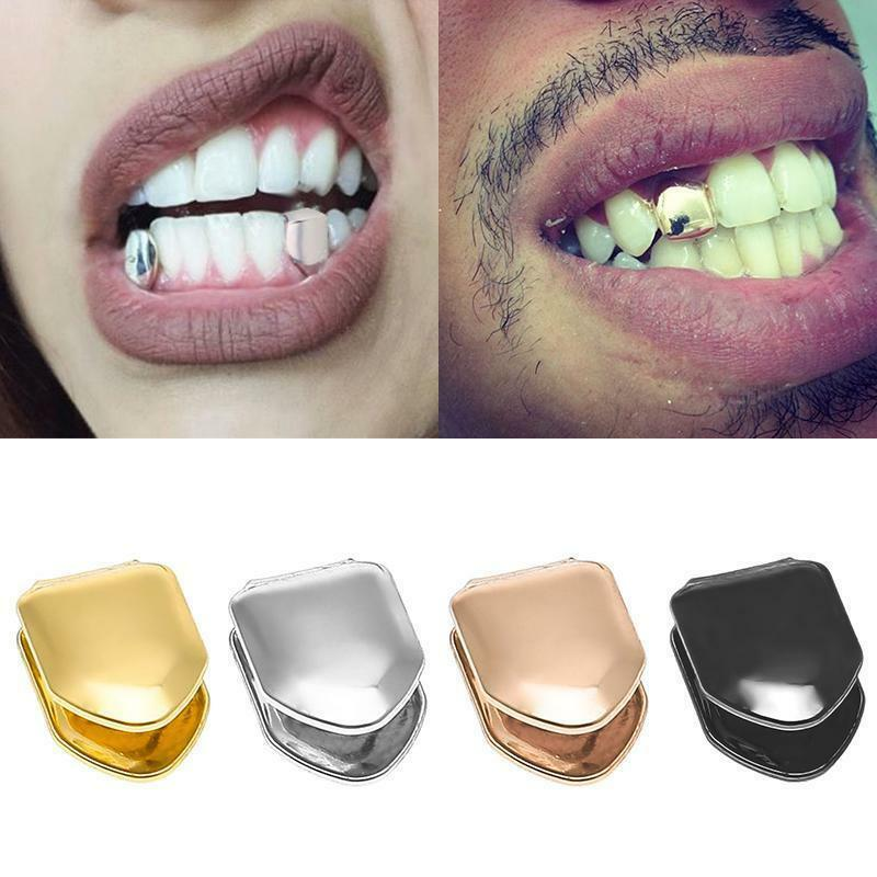 Details about Custom 14k Gold Teeth Silver Plated Small Single Tooth Cap  Hip Hop Grill Tooth C 073571dd9