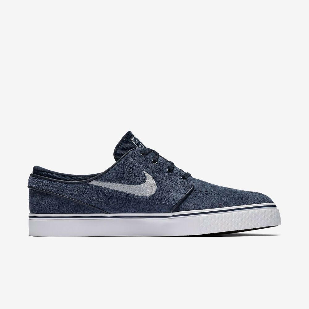 d48fa6027 Details about Nike SB Janoski in Obsidian/Black/White/Wolf Grey - Men's 7 -  12 NWT 633014-400