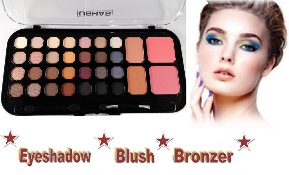 Eyeshadow Blush Bronzer Combo Palette Eye Shadows Face Makeup Beauty