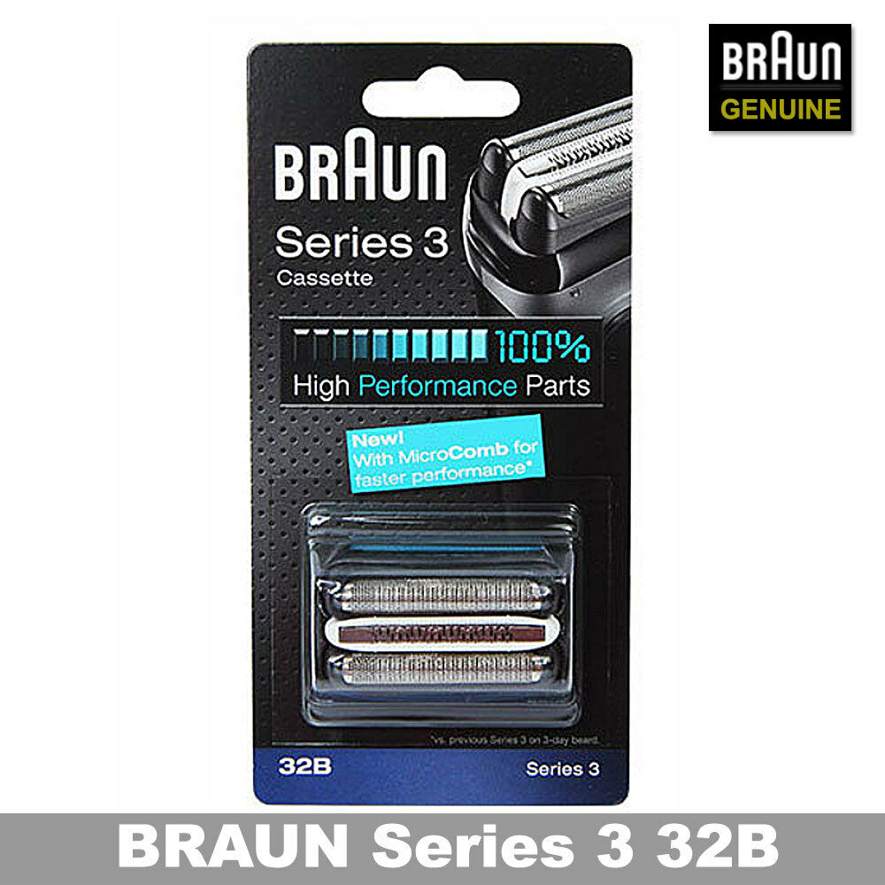 Braun 32b Series 3 Shaver Cassette Foil Amp Cutter With
