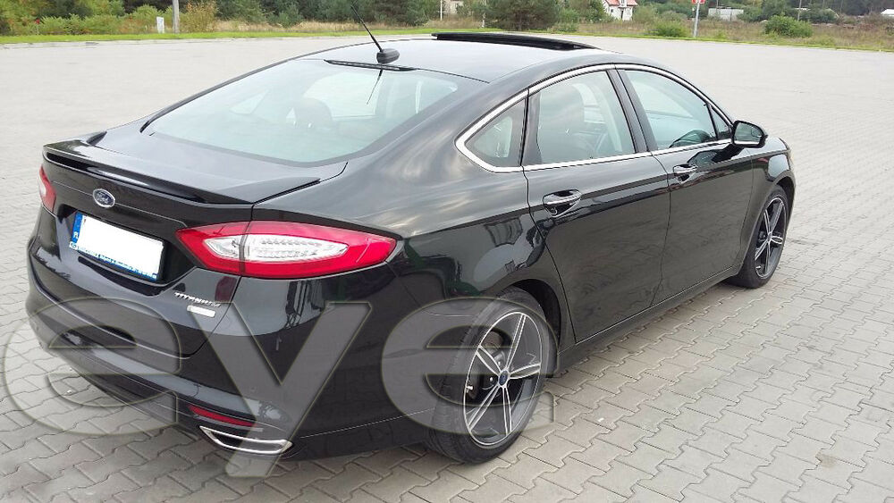 ford mondeo mk5 sed rear roof spoiler from 2014 ebay. Black Bedroom Furniture Sets. Home Design Ideas