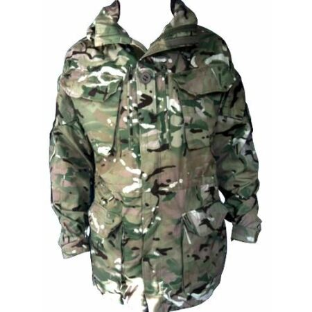 img-MTP PCS Windproof Smock/Jacket With Hood - British Army Military Camouflage NEW