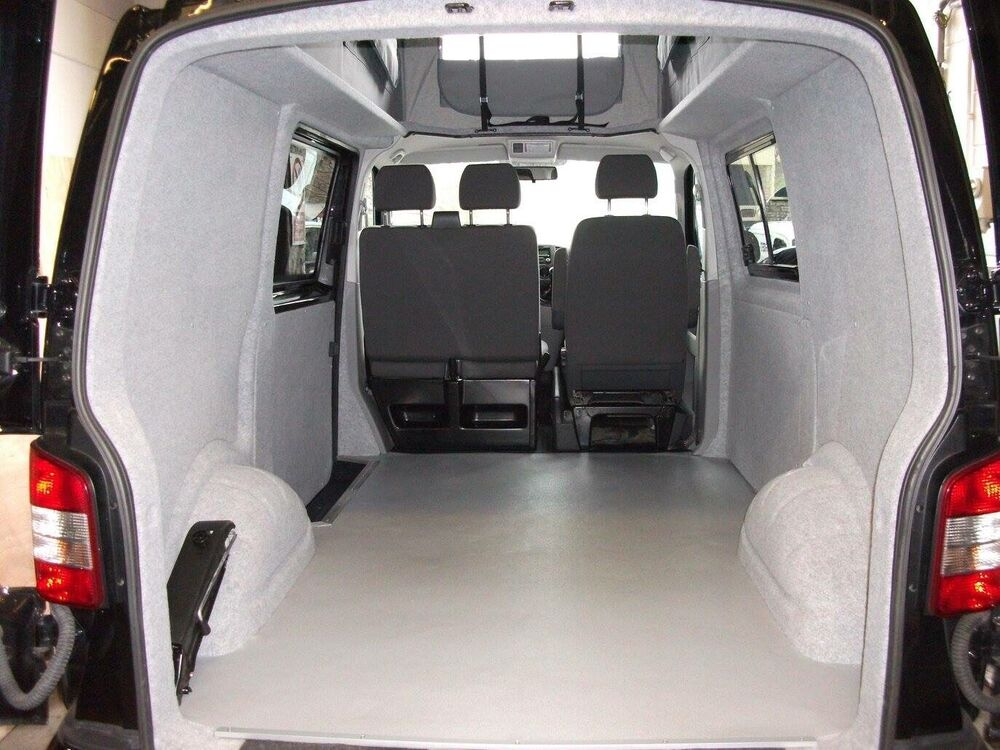 Vivaro Traffic Van Conversion Carpet Insulation