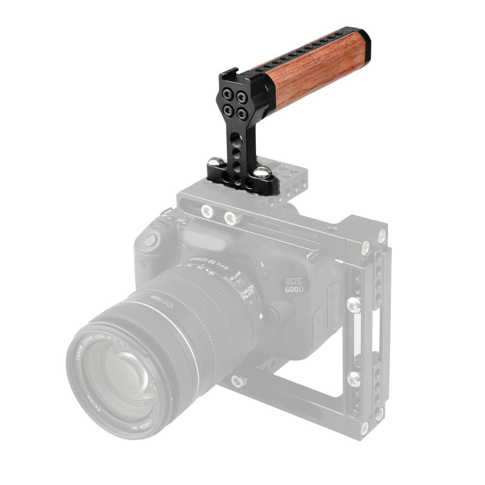 <b>CAMVATE</b> Top Cheese Handle Wooden Grip for <b>DSLR Camera</b> ...