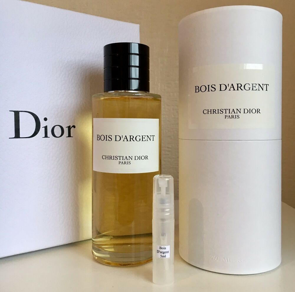 christian dior bois d 39 argent eau de parfum 5ml sample spray ebay. Black Bedroom Furniture Sets. Home Design Ideas