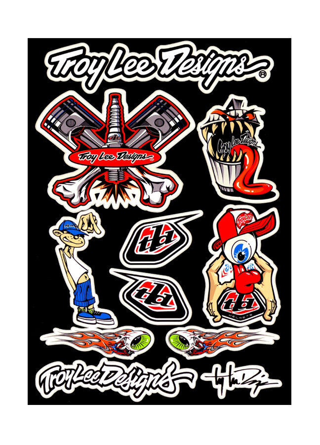 Troy Lee Designs Stickers Uk