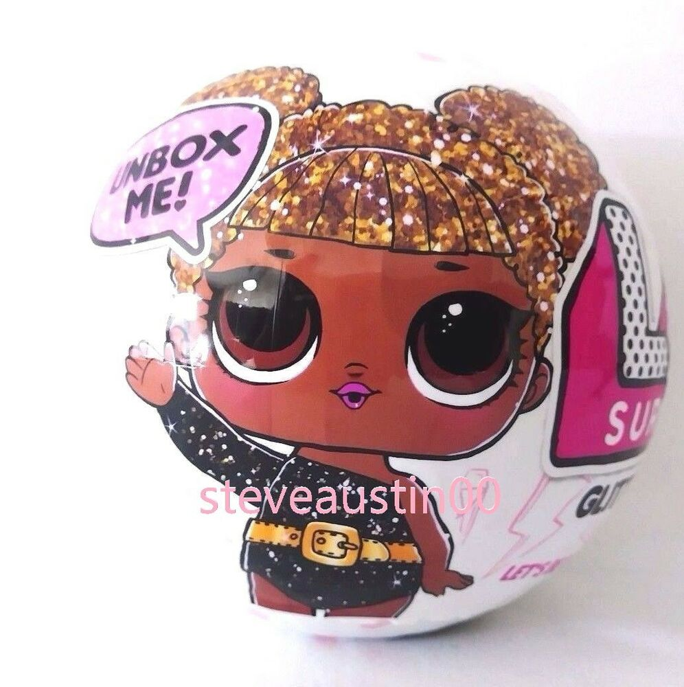 Authentic Glitter Series 3 LOL Surprise DOLL 7 Layers L.O