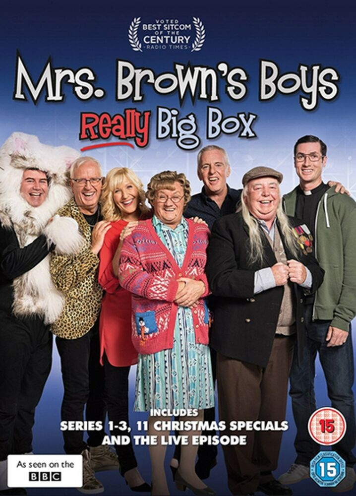 Details About Mrs Brown S Boys Really Box Set Dvd