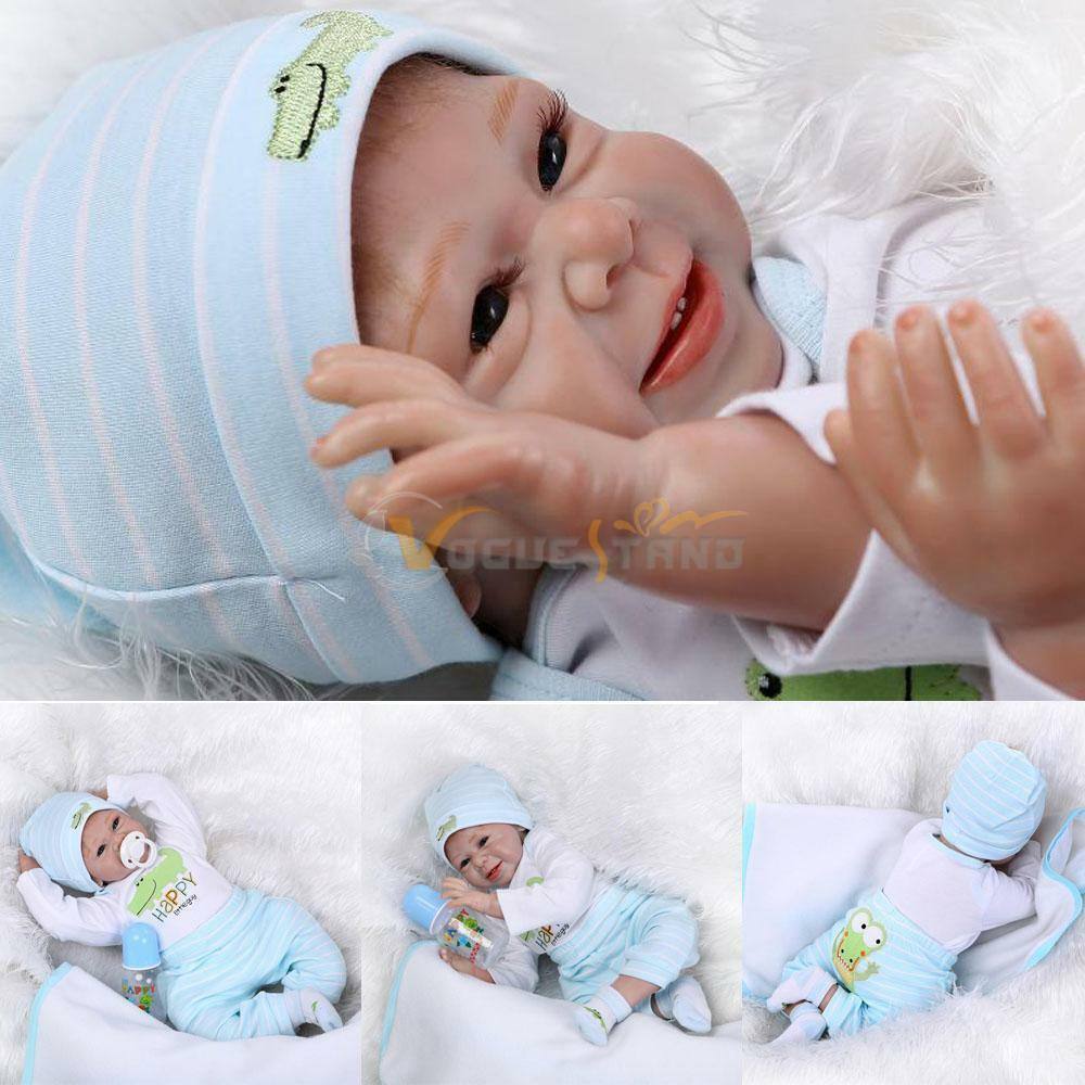 Reborn Toddler Dolls 22 Handmade Lifelike Baby Solid