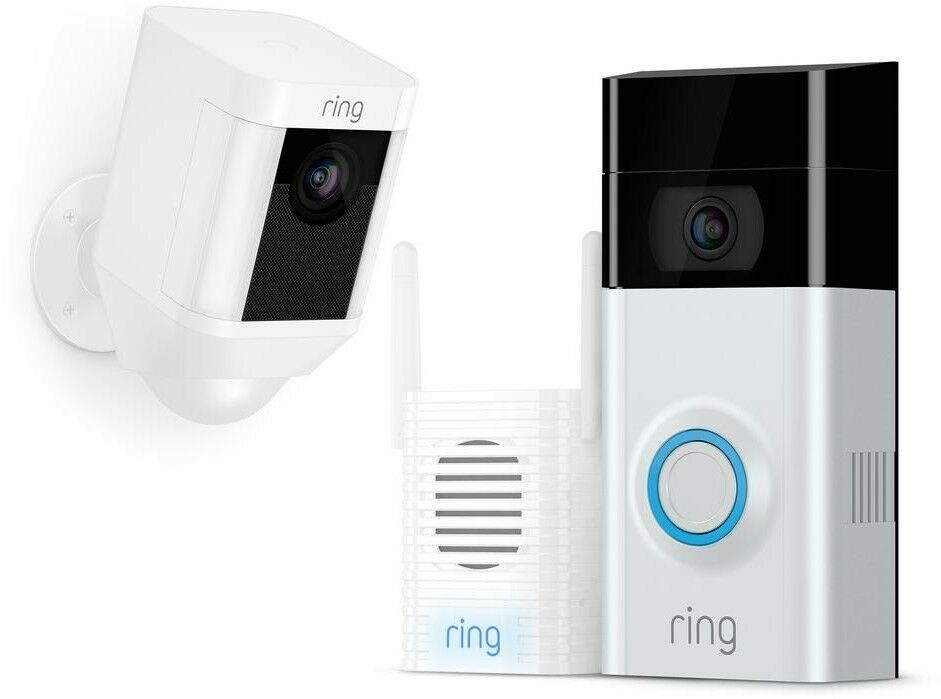 Ring Wireless Video Doorbell 2 Chime Pro Spotlight ...