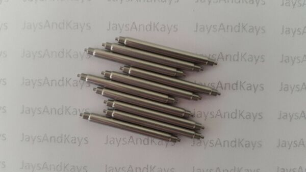 Pack of 10 2.5mm FAT BOY Dive Watch Spring Bars 18 mm 20 mm 22 mm 24 mm 26 mm