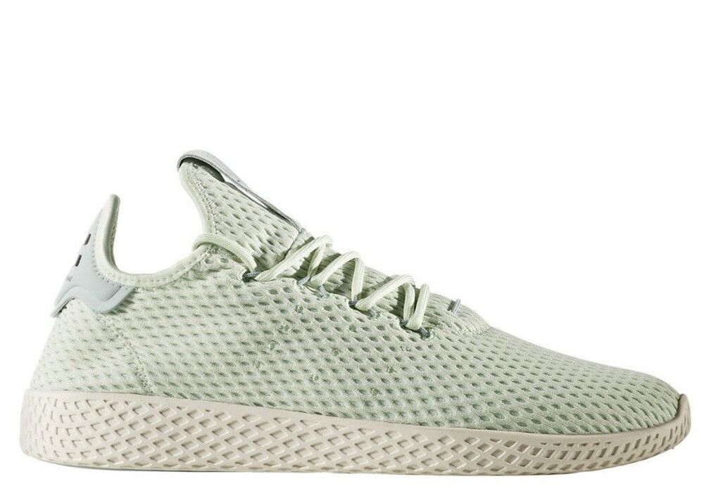0cdc2cf79d32d Details about  CP9765  Mens Adidas Originals Pharrell Williams PW Tennis HU  - Linen Green