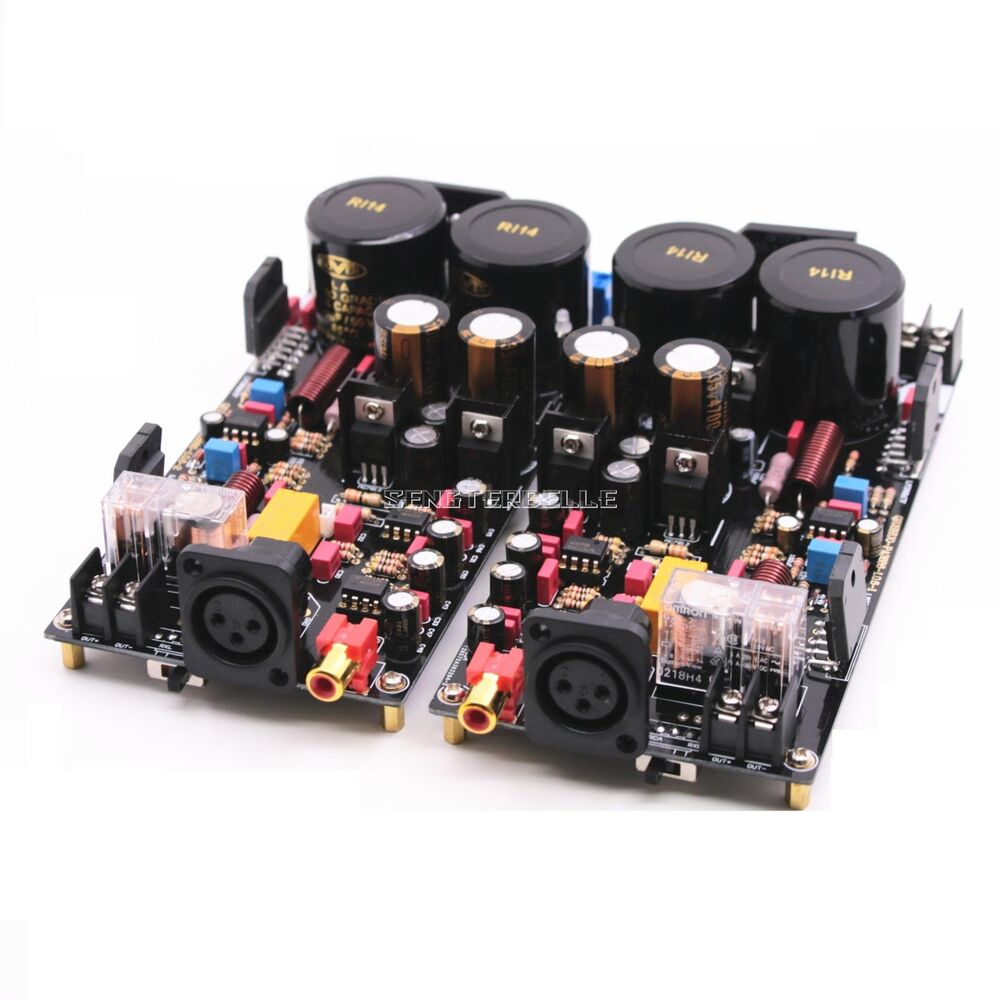 lm3886 fully balanced power amplifier board 120w 120w hifi stereo 2 channel ebay. Black Bedroom Furniture Sets. Home Design Ideas