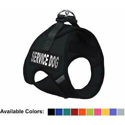 Service Dog Vest Step In Soft Mesh No Pull Harness For Small Medium Large Pets