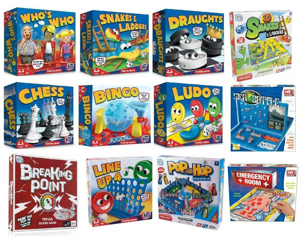 Board Games Toy : Classic traditional family board games kids childrens xmas