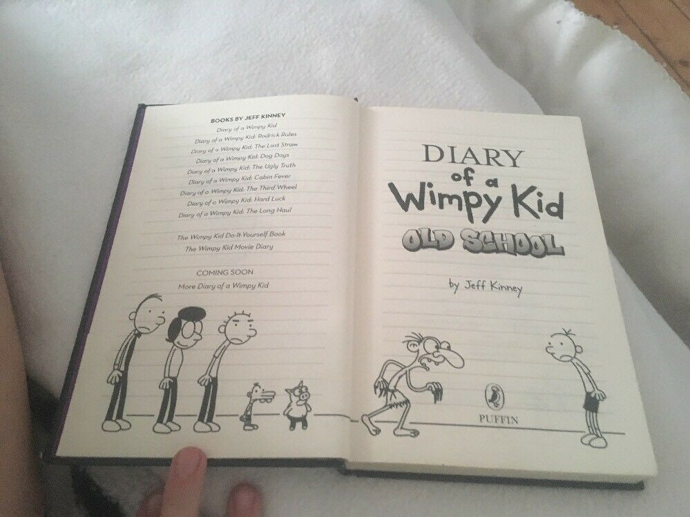 Diary of a wimpy kid old school by jeff kinney hardback 2015 ebay solutioingenieria Gallery