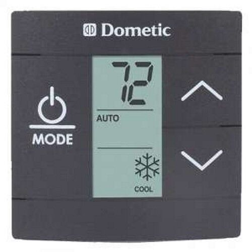 Dometic 3316230 014 Single Zone Lcd Black Thermostat