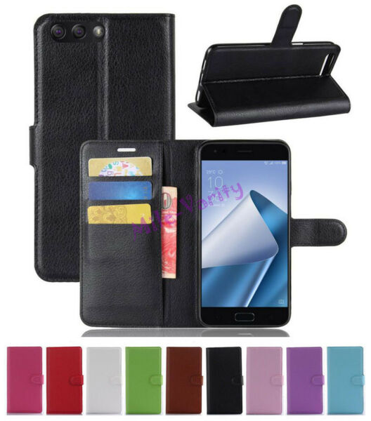 Flip Magnetic Card Wallet PU Leather Case Cover For Asus Zenfone 4 MAX ZC520KL