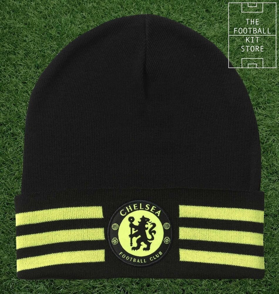 Details about Chelsea Hat - adidas Woolie   Beanie Hat - CFC Football Hat -  Mens   Boys Sizes 27ccbd1de76
