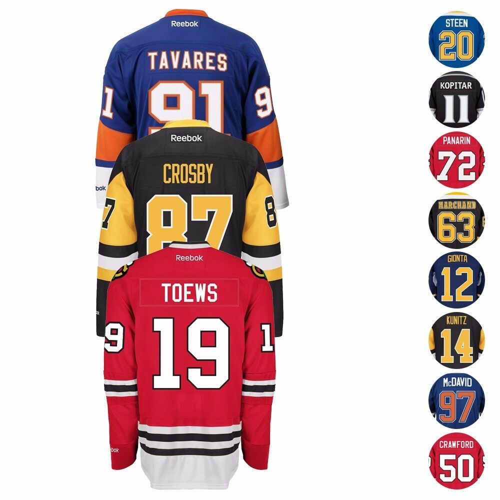 Details about NHL Reebok Authentic Official Premier Home Player Jersey  Collection Men s 3041e4985fb