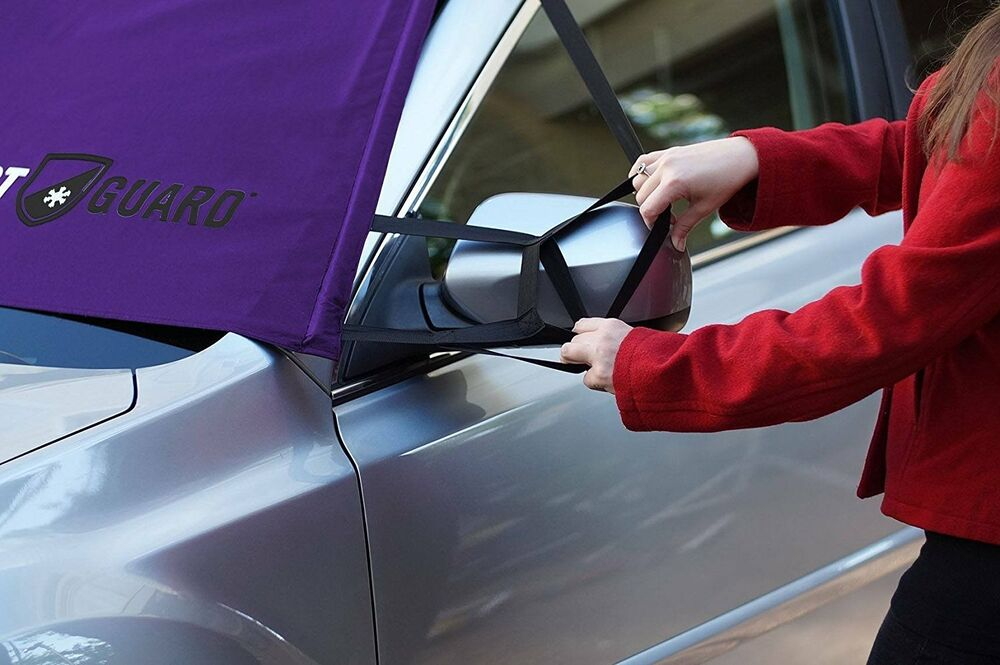 winter windshield snow cover frost guard mirror ice protector car window truck ebay. Black Bedroom Furniture Sets. Home Design Ideas