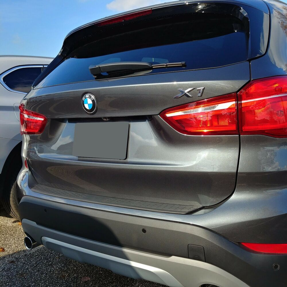 REAR BUMPER PROTECTIVE Trim Molding SCRATCH Guard For: BMW