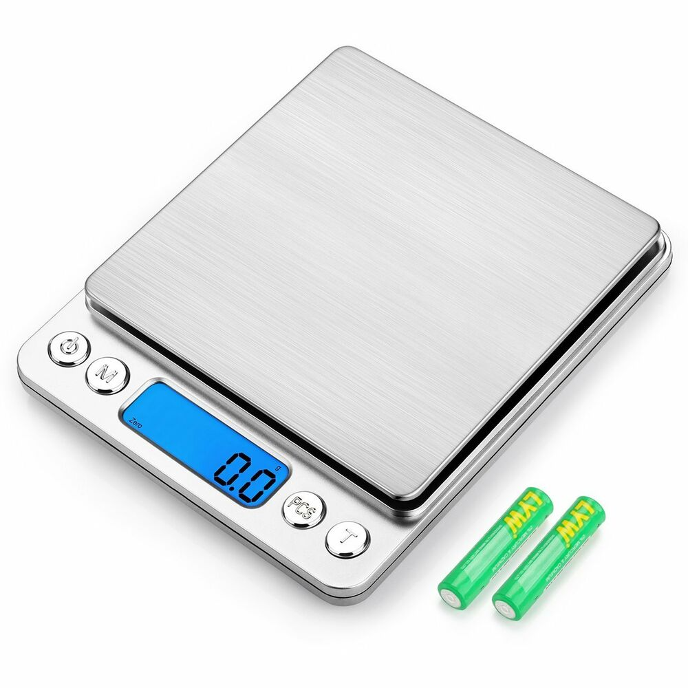 Details about 3000g 0 1g digital food scale amir pocket kitchen scale electric pro mini scale