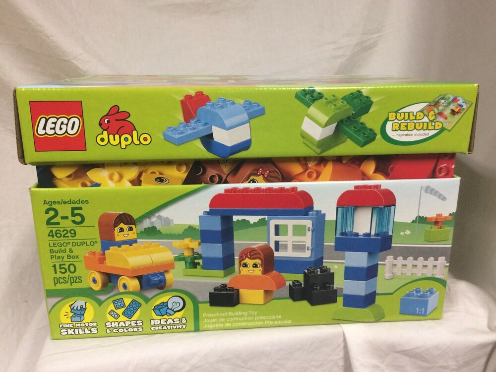 Lego 4629 Duplo Build And Play Box Retired New Sealed Perfect Box