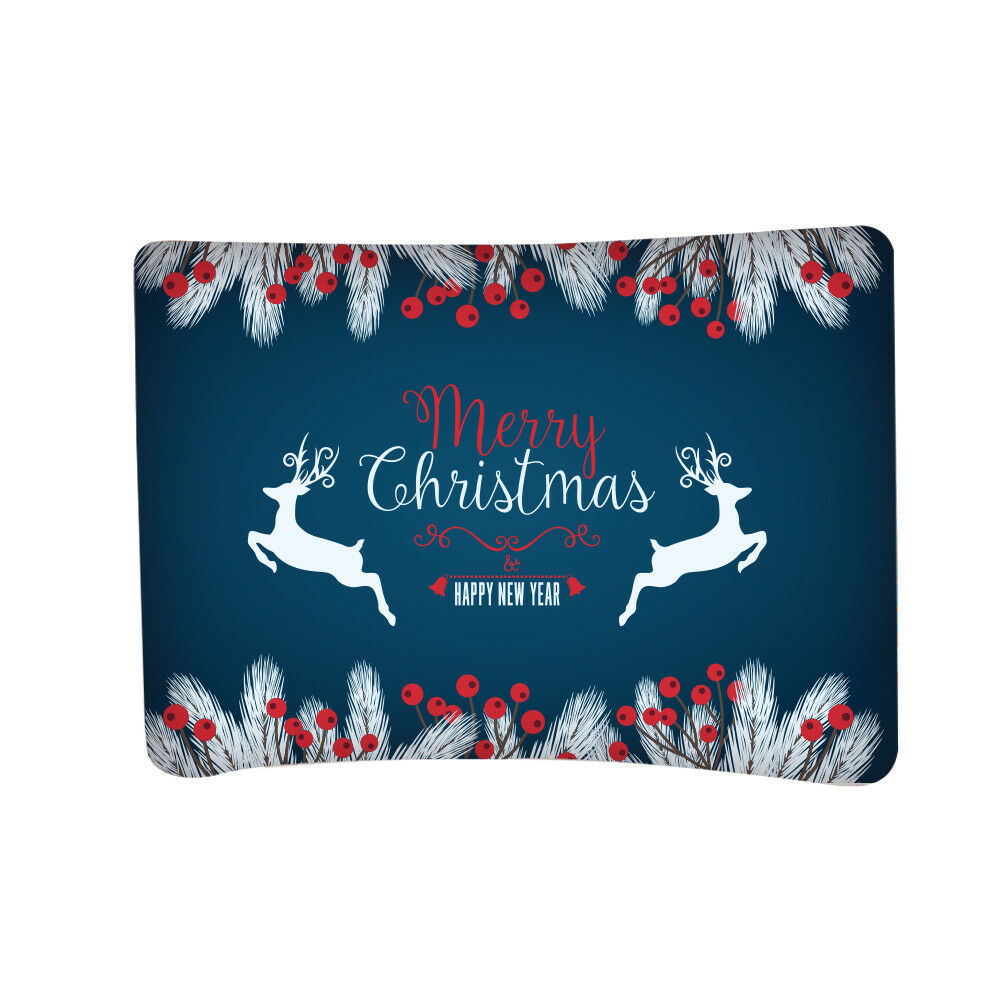 MERRY CHRISTMAS Banner, Holiday New Year Party Decor ...