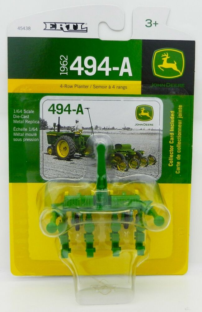 1 64 Ertl John Deere 494 A 4 Row Corn Planter