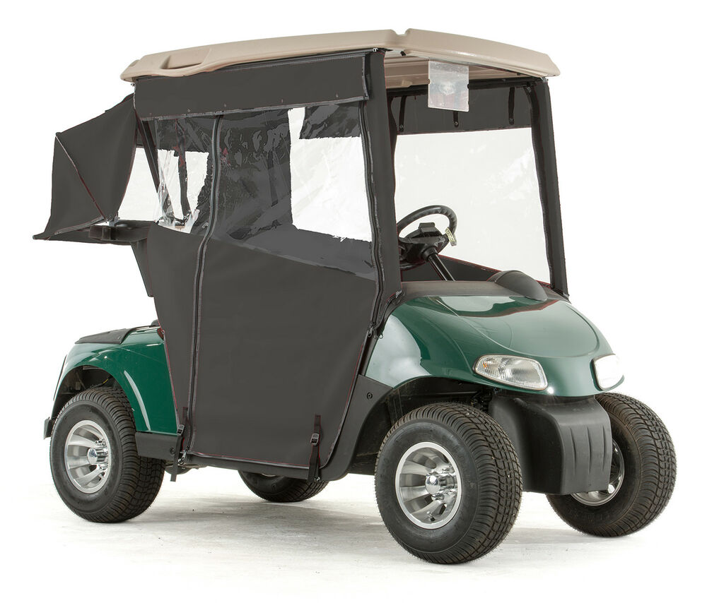 ezgo rxv golf cart pro touring sunbrella track enclosure. Black Bedroom Furniture Sets. Home Design Ideas