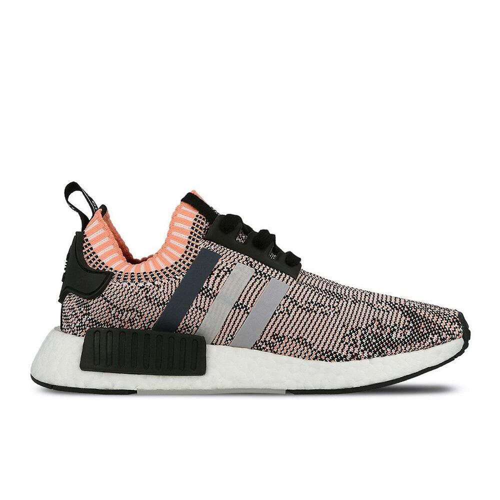 c1d08bca29c5c0 Details about Womens NMD R1 W PK Sun Glow Pink Running Trainers BB2361