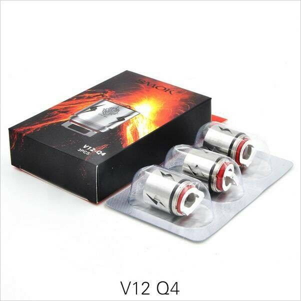 Details about Smok TFV12 Cloud Beast King Coil V12-Q4 3PCS Replacement  Coils for TFV12 Tank