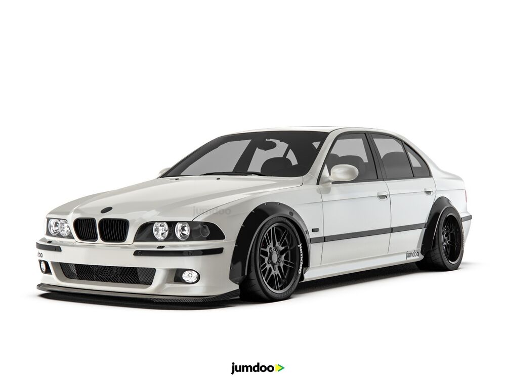 bmw 5 series m5 bmw e39 fender flares concave wide body. Black Bedroom Furniture Sets. Home Design Ideas