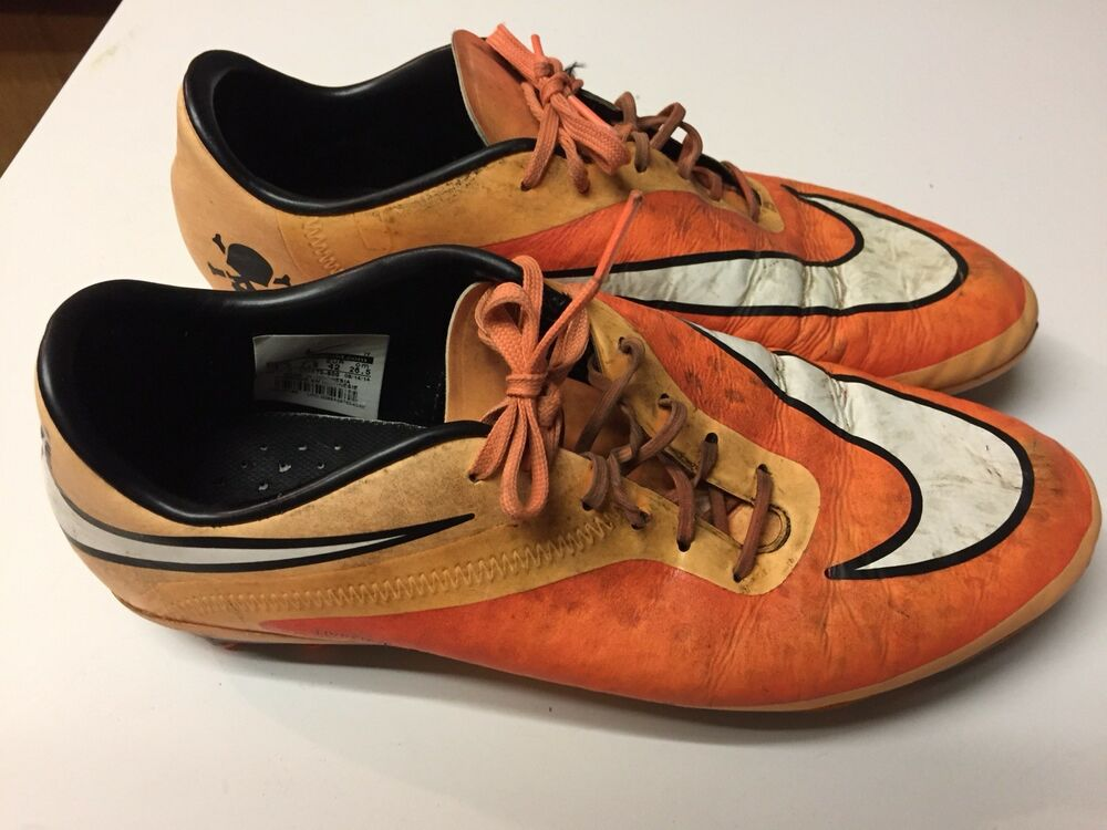 9fadbbd09f85 Details about Nike Hypervenom Phantom FG Soccer Cleats Men s US 8.5 Orange