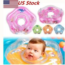 hot Inflatable Baby Newborn Infant Neck Float Ring Bath Swim Safe US STOCK