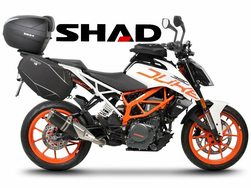 befestigungen shad f r ktm duke 125 390 de 2017 top case. Black Bedroom Furniture Sets. Home Design Ideas