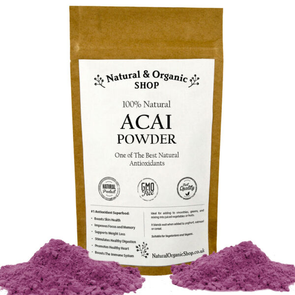 ACAI BERRY POWDER - Natural & Organic Shop (SPECIAL OFFER up to 30% OFF)