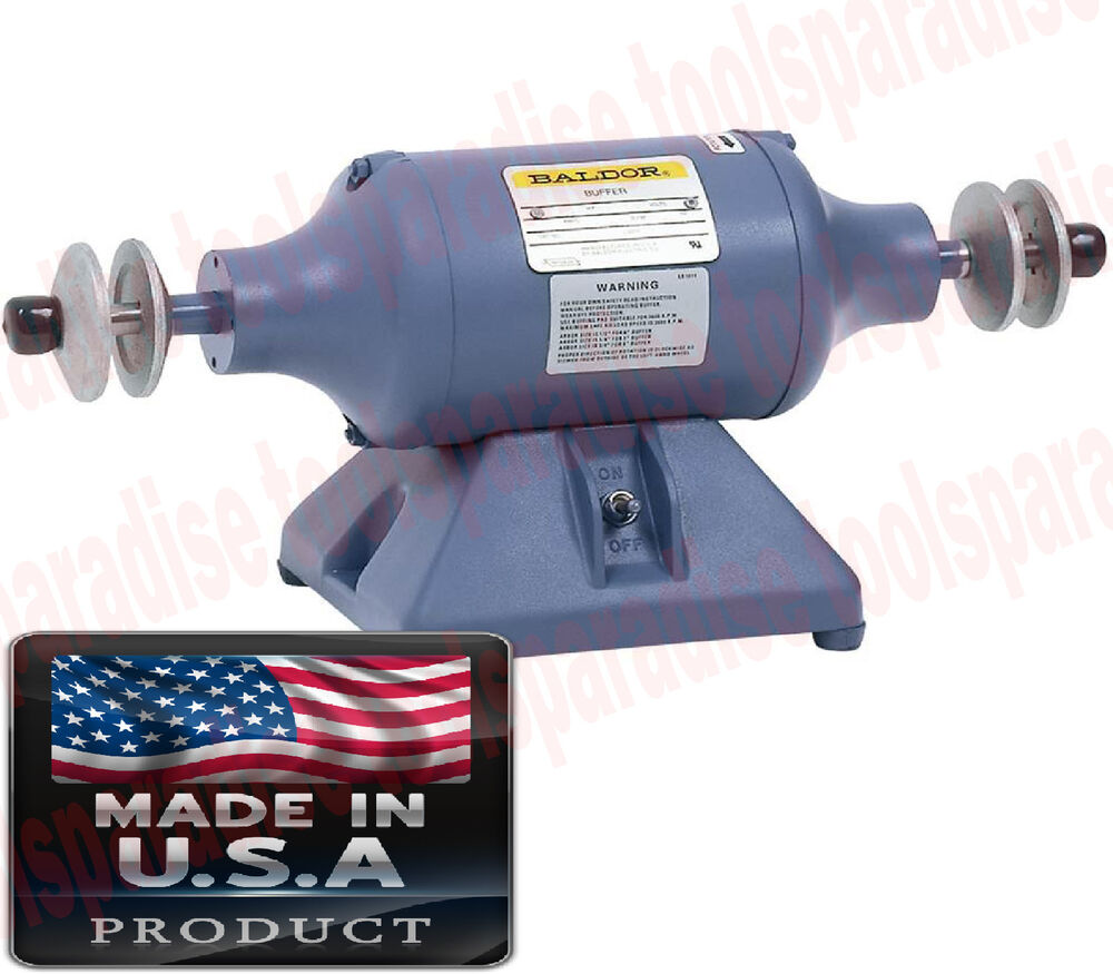 Industrial 6 Quot In Wheel Table Bench Top Buffer Polisher
