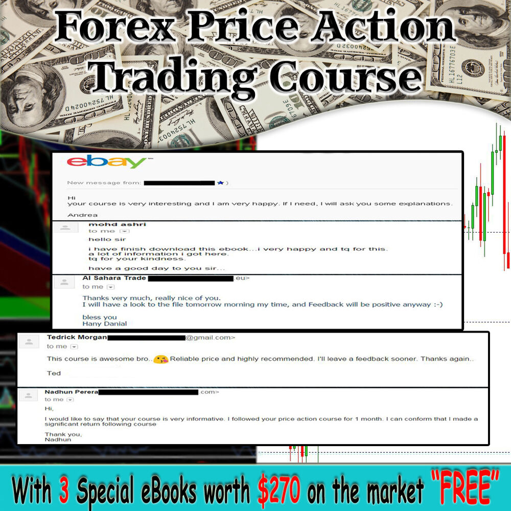Trading forex with price action only