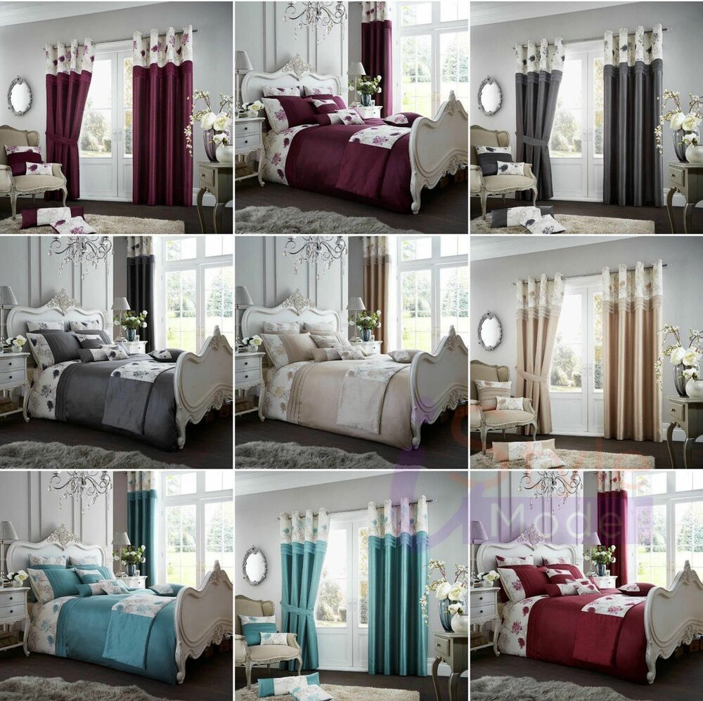 Modern duvet cover koh complete quilt bedding set and - Complete bedroom sets with curtains ...