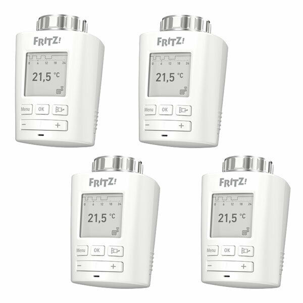 4x avm fritz dect 301 heizk rperthermostat smart home hausautomation dect ebay. Black Bedroom Furniture Sets. Home Design Ideas