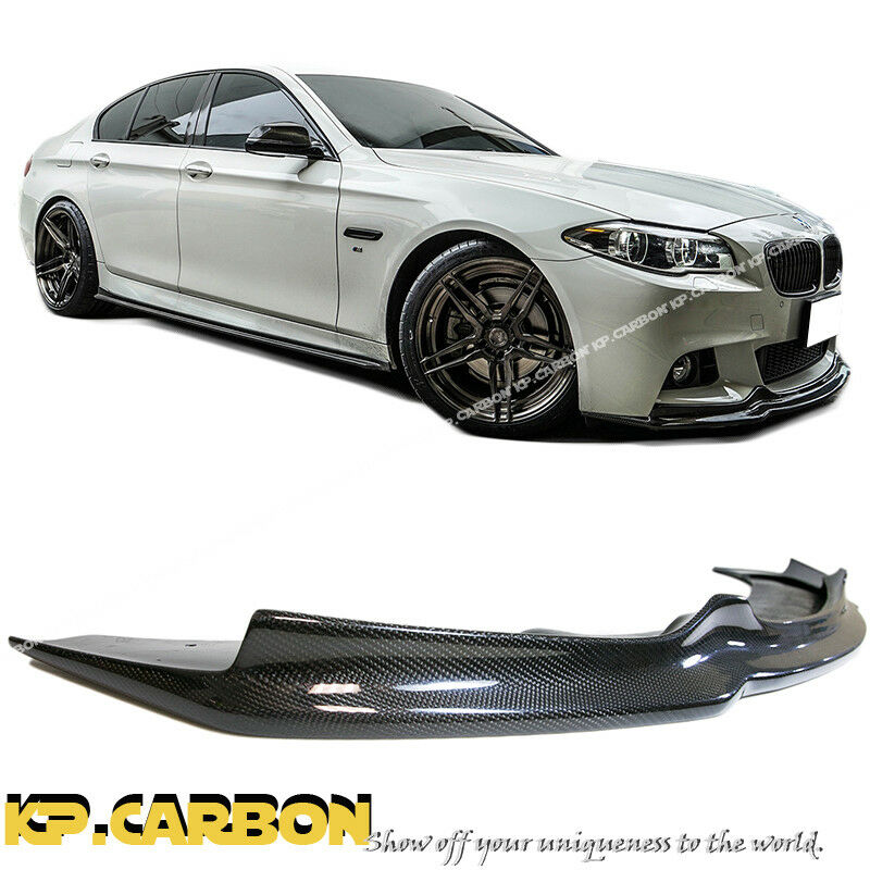 M-Sport AK Style Front Bumper Extension Lip For 2011-2015